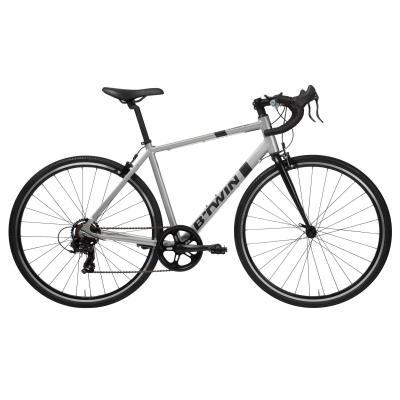 Bicicletă Şosea Triban 100 Gri