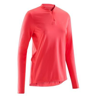 Bluză Ciclism 100 Roz