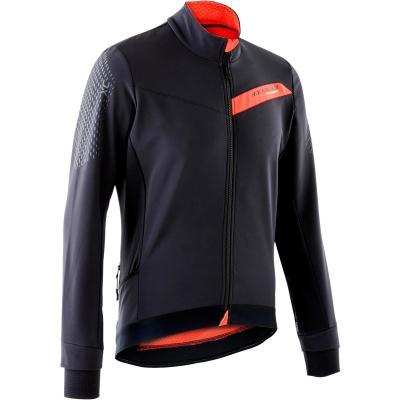 Jachetă MTB XC Negru/Roșu